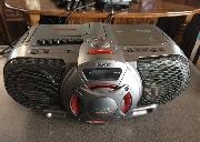 sony 收音机 CD 录音带,AM FM 工作良好