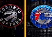 篮球比赛 多伦多猛龙 对战 76人 热血喷张!