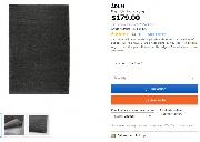 出闲置IKEA地毯,2m x 3m
