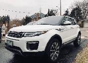 转lease多图 6100km的2017年底新车 白色路虎极光